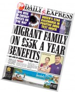 Daily Express - Wednesday, 23 July 2014