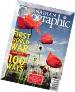 Canadian Geographic - July-August 2014