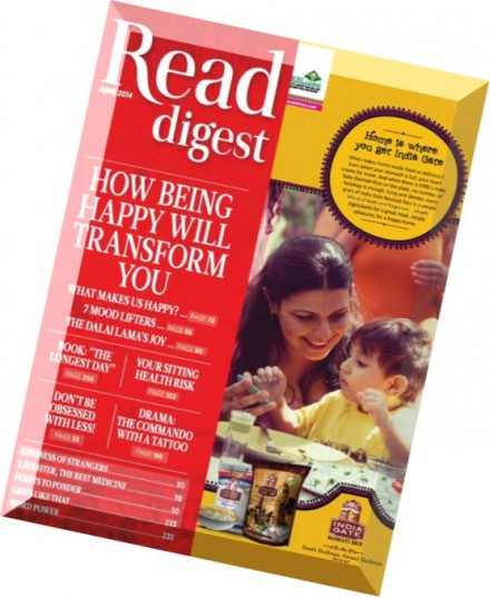 To enjoy Reader's Digest throughout the year at a discounted rate subscribe now and get your favourite magazine delivered every month. Also get a chance to win lakhs of rupees in our annual sweepstakes.