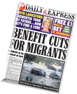 Daily Express - Tuesday, 29 July 2014