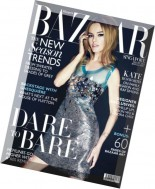 Harper's Bazaar Singapore - August 2014