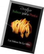 Recetario Salsas para Pastas