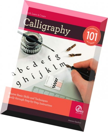Download calligraphy 101 master basic skills and Calligraphy 101