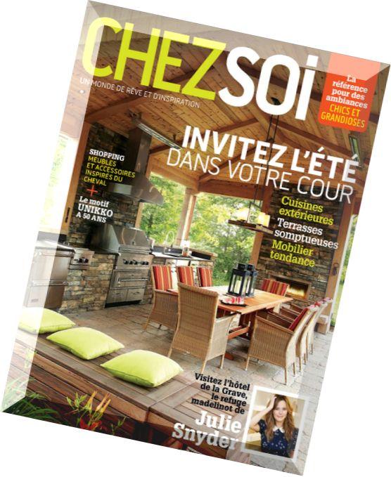 Download chez soi juin 2014 pdf magazine for Magazine decoration chez soi
