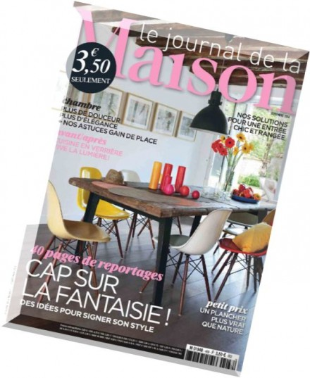 download le journal de la maison n 468 septembre 2014 pdf magazine. Black Bedroom Furniture Sets. Home Design Ideas