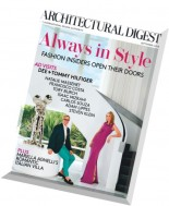Architectural Digest - September 2014