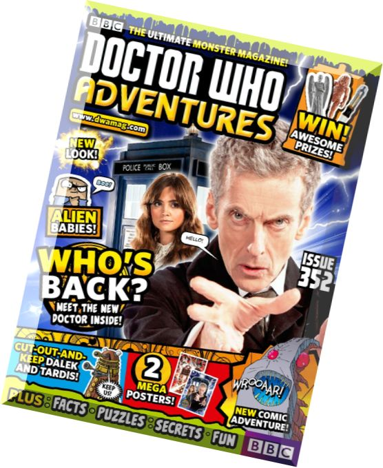 Download Doctor Who Adventures Magazine Issue 352 Pdf