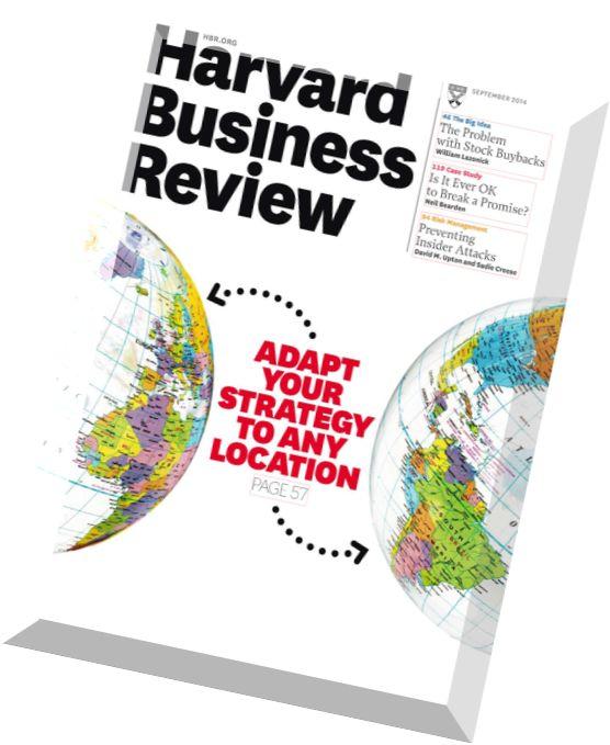Harvard business journals
