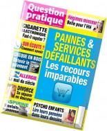 Question Pratique N 47 - Avril-Mai-Juin 2014