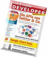 web & mobile DEVELOPER - August 2014