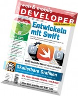 web & mobile DEVELOPER - September 2014