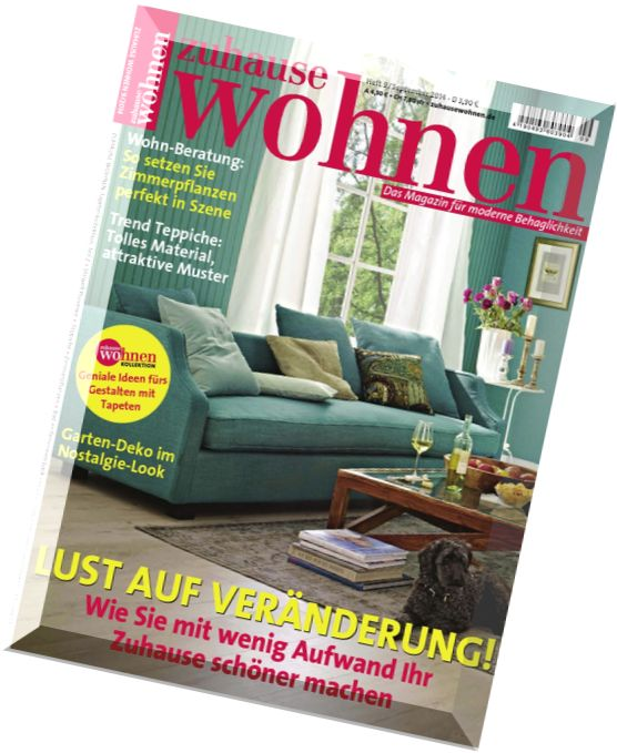 download zuhause wohnen magazin september 2014 pdf. Black Bedroom Furniture Sets. Home Design Ideas