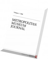The Metropolitan Museum Journal, V. 1