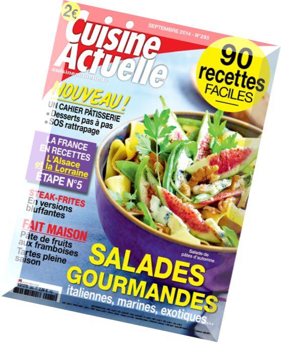 Download cuisine actuelle n 285 septembre 2014 pdf for Cuisine actuelle
