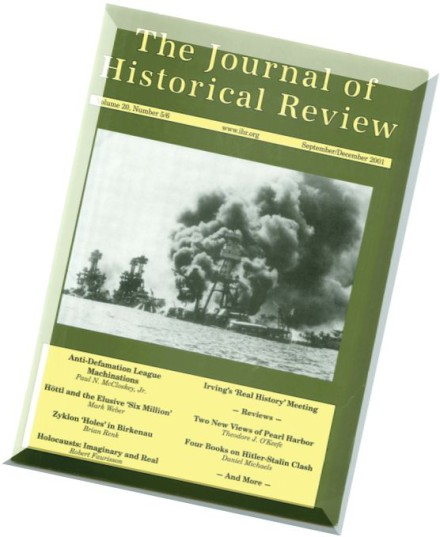 Institute for Historical Review | Southern Poverty Law Center