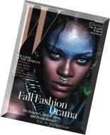W Magazine - September 2014