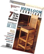 Woodworker's Journal Heirloom Furniture - Spring 2006