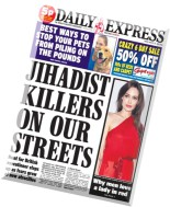 Daily Express - Friday, 22 August 2014