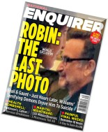 National Enquirer - 1 September 2014 Robin The Last Photo