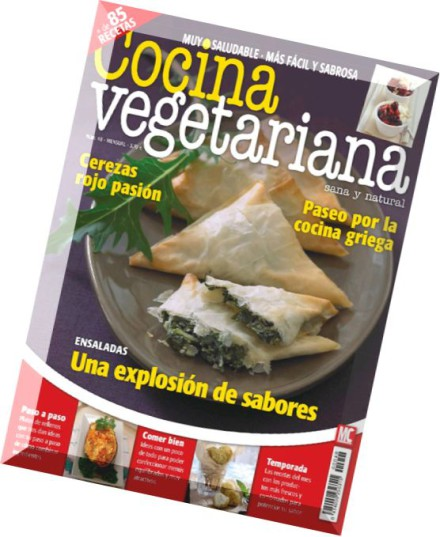 Download cocina vegetariana junio 2014 pdf magazine for Cocina vegetariana
