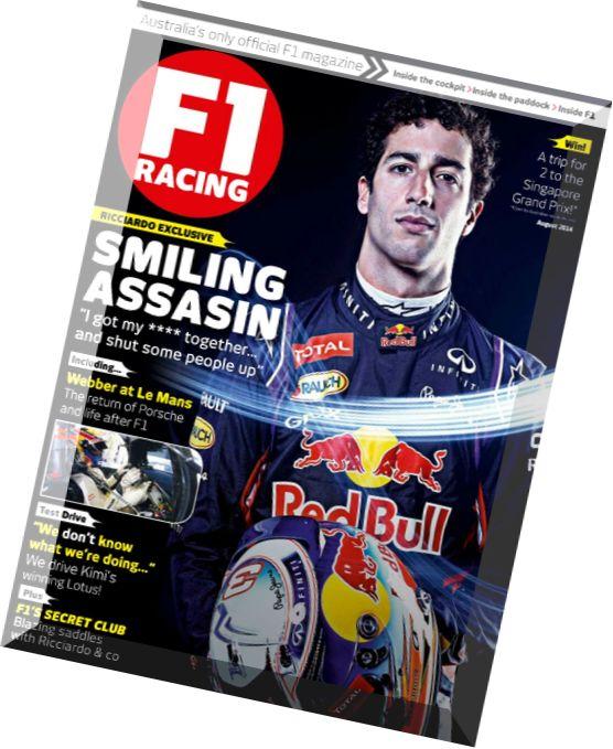 Australia 2014 f1 f1 Racing Australia August