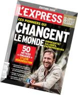 L'Express Hors-Serie Reussir N 27 - Septembre-Octobre 2014