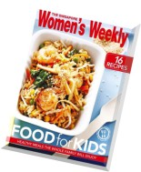 The Singapore Women's Weekly - Food For Kids Recipe Booklet