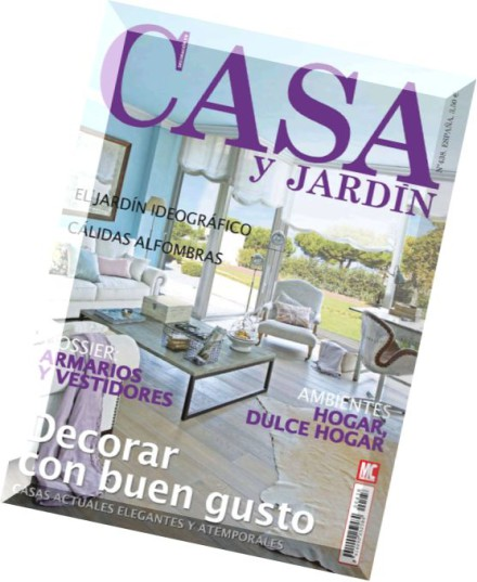 Download casa y jardin septiembre 2014 pdf magazine for Casa y jardin revista pdf