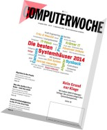 Computerwoche Magazin N 36-37, 01 September 2014