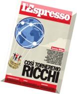 L'Espresso N 35 - 4 Settembre 2014