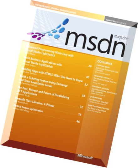 MSDN Magazine Issues