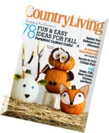 Country Living USA - October 2014