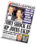 Daily Express - Friday, 29 August 2014