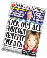 Daily Express - Thursday, 28 August 2014