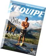L'Equipe Magazine N 1676 du samedi 30 Aout 2014