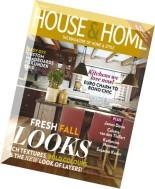 House & Home Magazine - October 2014