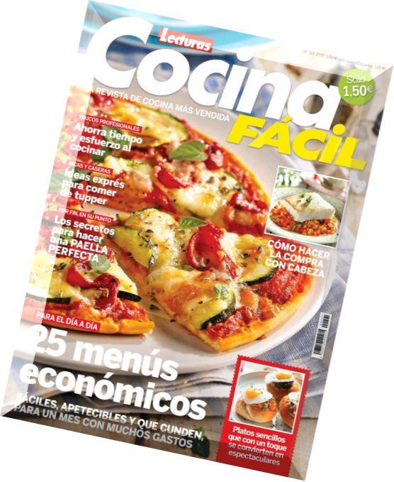 Download cocina facil lecturas septiembre 2014 pdf for Cocinar facil