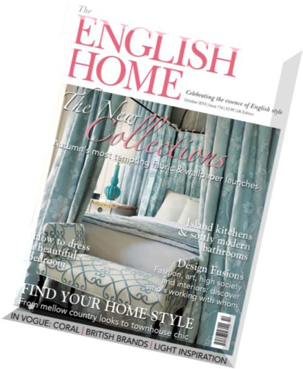Download the english home magazine october 2014 pdf for English house magazine