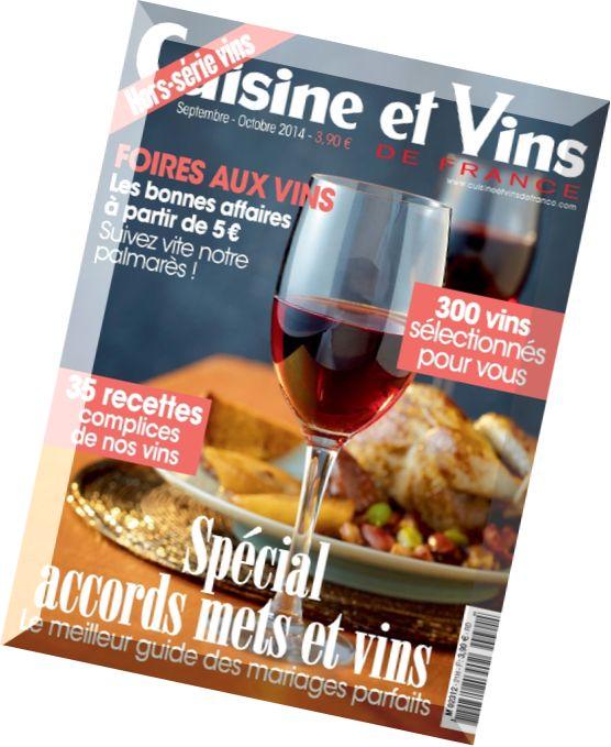 Download cuisine et vins de france hs n 30 septembre for Abonnement cuisine et vins de france