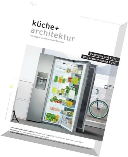 download kuche und architektur magazin n 04 2014 pdf magazine. Black Bedroom Furniture Sets. Home Design Ideas