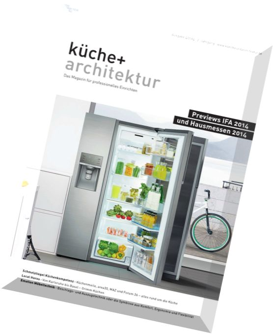 Download kuche und architektur magazin n 04 2014 pdf for Architektur und wohnen magazin