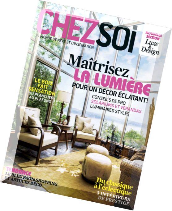 Download chez soi septembre 2014 pdf magazine for Magazine decoration chez soi