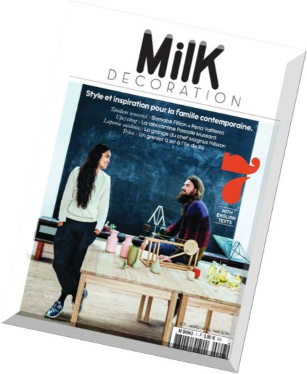download milk decoration magazine n 7 pdf magazine. Black Bedroom Furniture Sets. Home Design Ideas