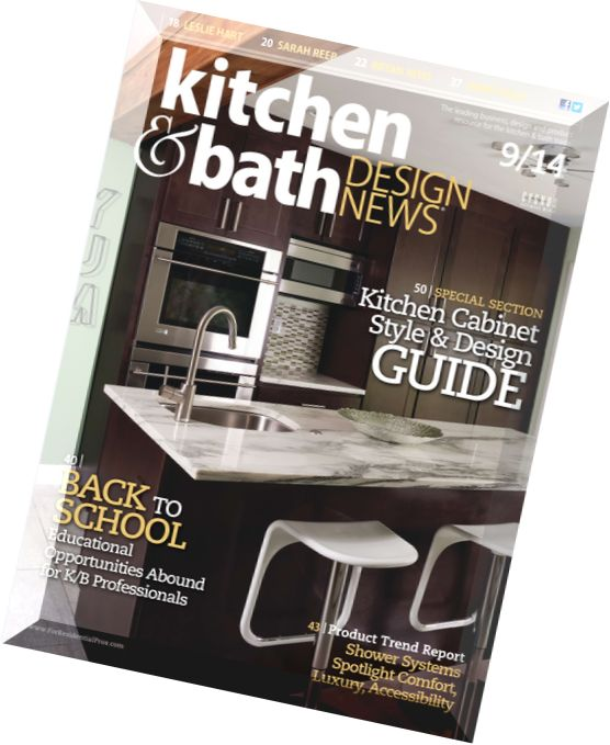 Download Kitchen Bath Design News September 2014 PDF Magazine