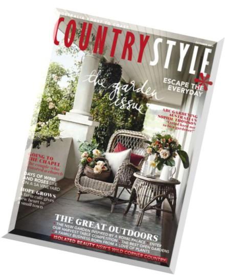 Download Country Style Australia October 2014 Pdf Magazine