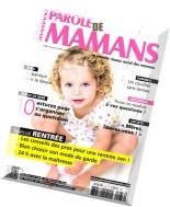Parole de Mamans N 32 - Automne 2014