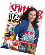 Simply Knitting - October 2014