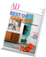 AD Architectural Digest Germany - Oktober N 10, 2014