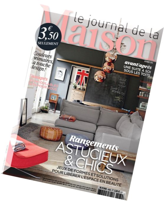 download le journal de la maison n 469 octobre 2014 pdf magazine. Black Bedroom Furniture Sets. Home Design Ideas