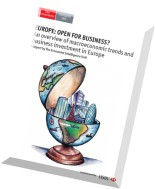 The Economist (Intelligence Unit) - Europe Open For Business 2014